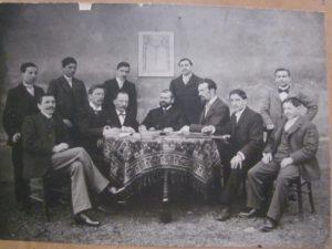 Conseil d'administration 1903 membres fondateurs de l'Amicale Laique de Côte chaude