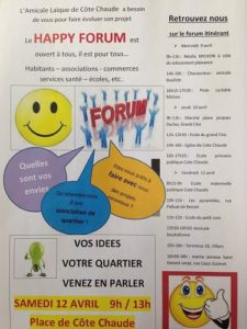 affiche happy forum
