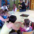 """Le LAPE """"les petits pouces"""" garde ses portes ouvertes pour les familles d'enfant de 0 à 4 ans, durant le mois de juillet."""