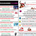 Noël 2014 3-5 ans