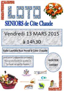 Loto séniors de Côte-Chaude