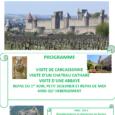 Les inscriptions pour le weekend familial dans la région de Carcassone, qui aura lieu le weekend du 5/6 septembre sont d'ores et déjà ouvertes. Afin de réserver l'hébergement au plus […]