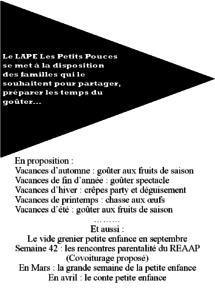 Programme LAPE 2015-2016
