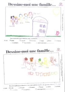 dessine moi une famille, dessins 1
