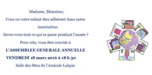 Invitation Assemblée Générale 1