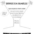 Les familles de l'Amicale ont créé pour elles et pour vous, parents et enfants, une soirée conviviale…Adhérent ou non !
