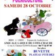 Vide-grenier puériculture organisé le samedi 28 octobre 2017, sur le quartier de Cote Chaude – à Saint-Etienne (boulodrome couvert) Emplacement : 6€ Nombre d'exposants : 40 les inscriptions sont ouvertes […]