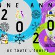 L'Amicale Laïque de Côte-Chaude, salariés et bénévoles, vous présentent leurs meilleurs voeux pour cette NOUVELLE ANNEE !