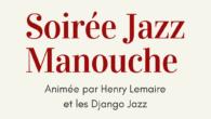 """Vendredi 7 février, l'Amicale Laïque de Côte-Chaude vous propose une soirée """"Jazz manouche"""". Le groupe """"Django Jazz"""" animera la seconde partie de soirée. Avant çà, nous vous proposons un repas […]"""
