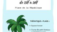 Ce jeudi 22 juillet, sous un beau soleil, des animations ont eu lieu sur la place de la République, à Côte-Chaude. Sabrina Taghbalout, psycho-praticienne, a accueilli sous sa tente rouge […]